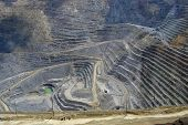 pic of porphyry  - Kennecott Copper Mine - JPG