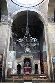 stock photo of apostolic  - Interior of armenian apostolic church in Armenia - JPG