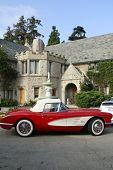LOS ANGELES - JUL 19: Playboy Mansion and Corvette at the Much Love Animal Rescue fundraiser 'Bow Wo