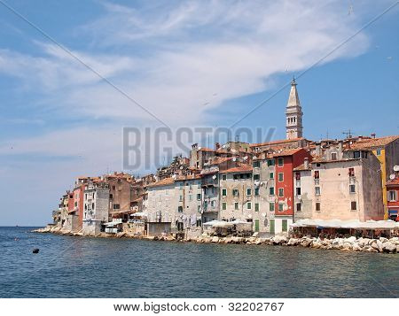 Rovinj Old Town In Croatia