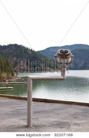 Binoculars At The Lake