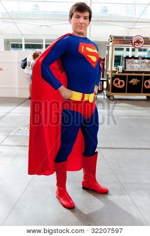 Superman at Comic Con 2011