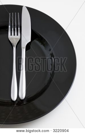 Steel Fork And Knife
