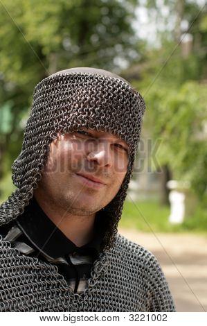 Man In Chain Mail