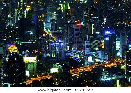 Bangkok At Nighttime