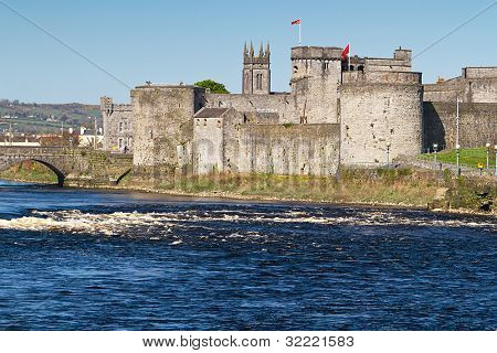 King John Castle in Limerick, Ireland