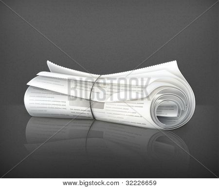 Rolled Newspaper, 10eps