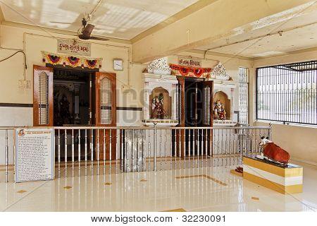 Hindu Temple At Dhatva