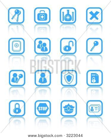 Seguridad y Antivirus Vector Icons