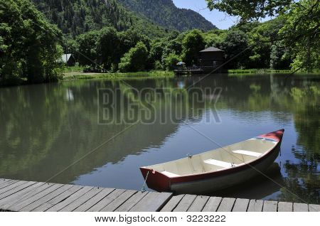 Pond & Boat