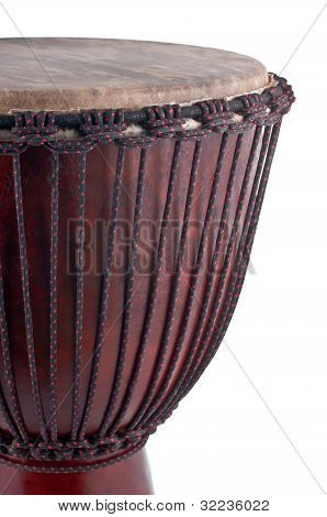 Djembe Isolated On White