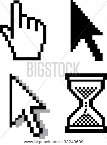 cursors v.4 - vector set