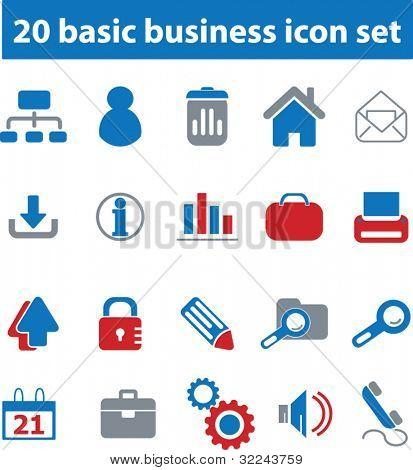 20 basic business icon set # 03