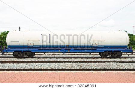 Bogie Gas Tanker