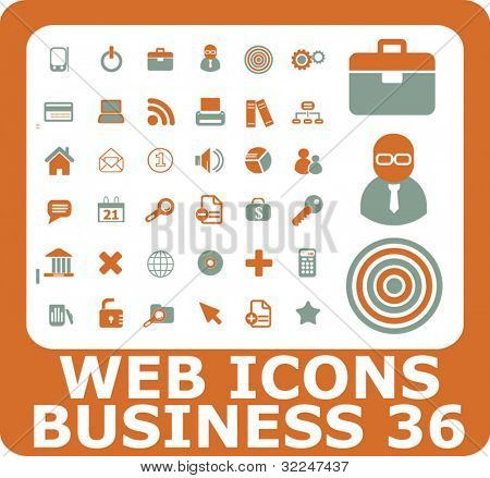 web business icons. vector