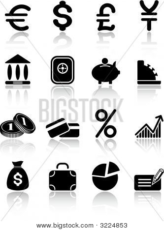 Dinero Vector Iconset