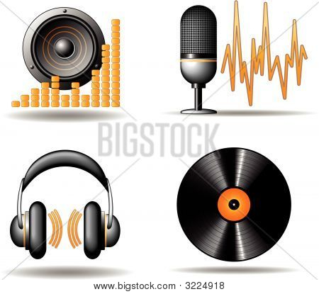 Audio Vector Iconset