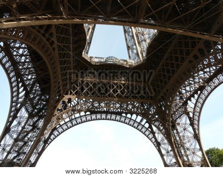Pictures Interior Eiffel Tower on Interior Of The Eiffel Tower Stock Photo   Stock Images   Bigstock