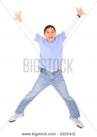 Teen Jumping