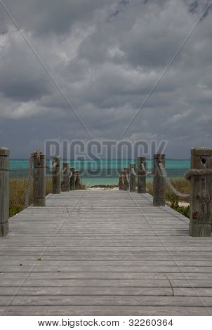 Walkway To Bight Beach