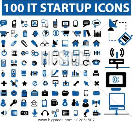 it startup icons