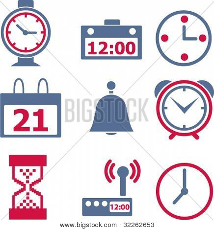 icons, signs, vector illustrations