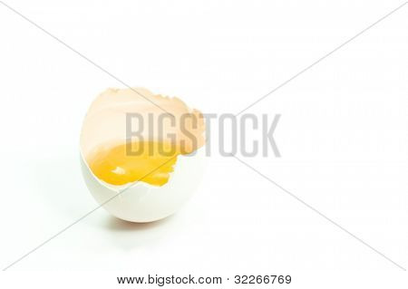Eggshell and yellow