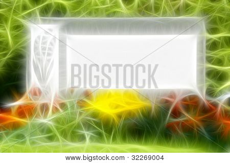 Tombstone in abstract style