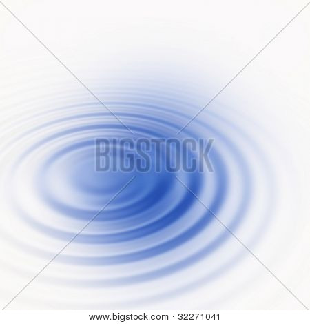 Smooth water ripple with copyspace