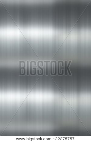 Wavy brushed metal background