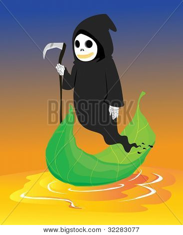illustration of a ghost on a white background - EPS VECTOR format also available in my portfolio.