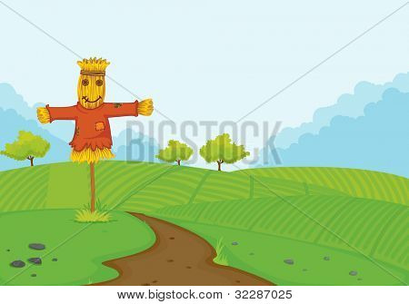 illustration of a farm on a white background - EPS VECTOR format also available in my portfolio.