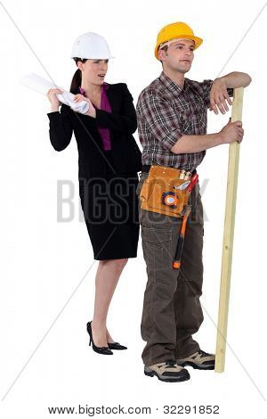 tensions between female architect and male carpenter