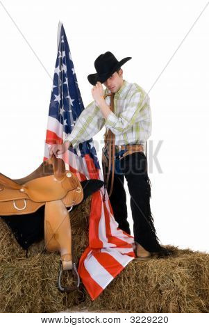 Fourth Of July Cowboy