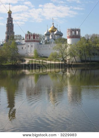 Moscow, Russia, Novodevichiy Monastery