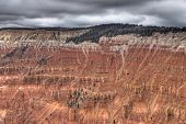 High Dynamic Range (Hdr) Impression Of Cedar Breaks