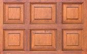 Front View Of Pattern Wooden Panel,window Or Door Of Wooden Wall Grunge Wood Panels Used As Backgrou poster