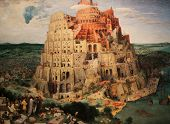 stock photo of babylon  - Tower of Babel  - JPG