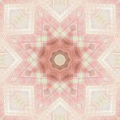 Soft Star Abstract poster