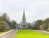 foto of leopold  - King Leopold I Monument Brussels Belgium  - JPG