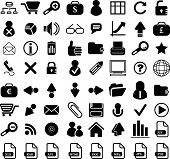 stock photo of people icon  - 64 business vector icon web set - JPG