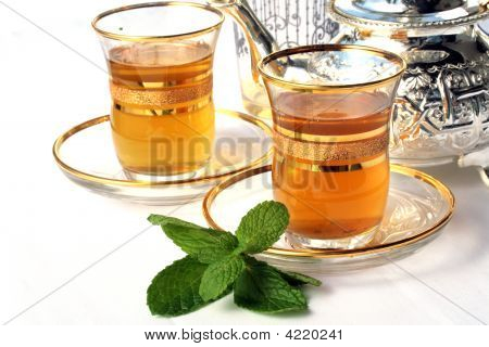 Traditional Moroccan Mint Tea