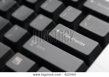 Fire Missiles Keyboard Detail