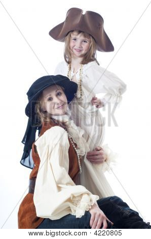 Dressing Up As Pirates