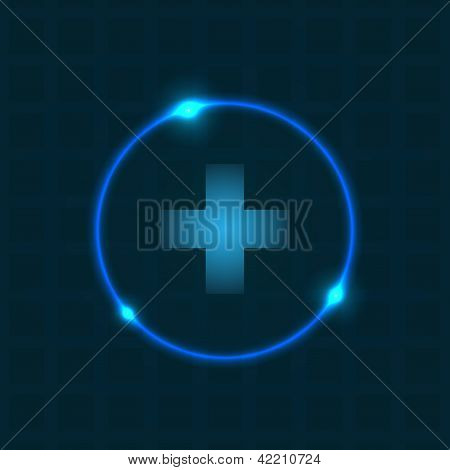 Abstract Background With Special Plasma Design