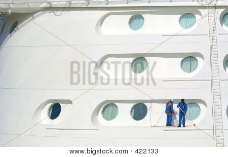 Cruise Ship Cleaning