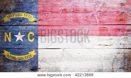 Flag Of The State Of North Carolina