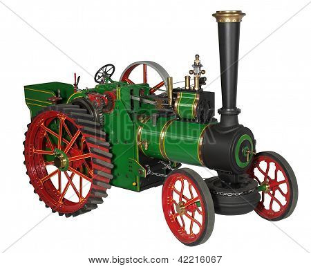 Automotive Steam Engine Model