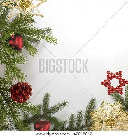 Decorative Christmas Back