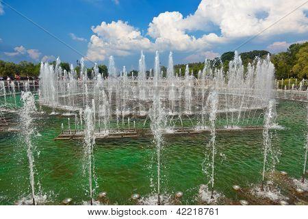 Fountain In Tsaritsino Park - Russian Moscow